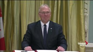 Bill Blair joins cabinet, named Minister of Border Security and Organized Crime Reduction